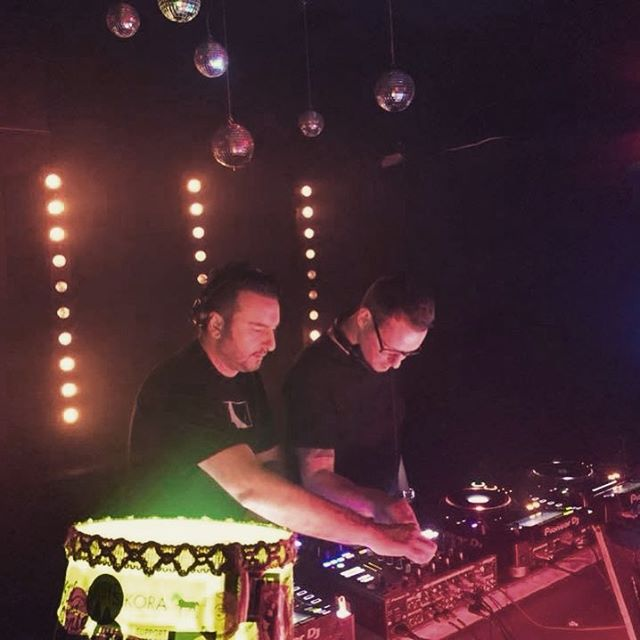 Instagram // Thank you Mr. @danilo_schneider for the uplifting b2b warm-up set at @drvogel.club. Great weekend with the @spieltrieb_recordings crew & my love @krs.gld 💙 Thank you! #ritterbutzke #drvogel #techno #house #nhowberlin  #dffrnt_v #lovedjing